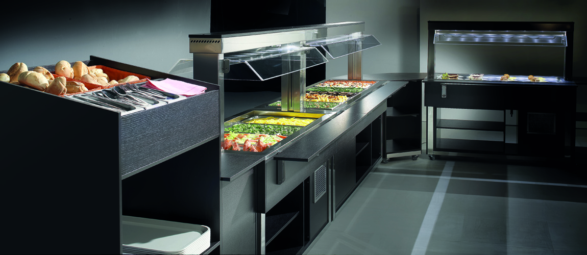 Buffet Display Counters