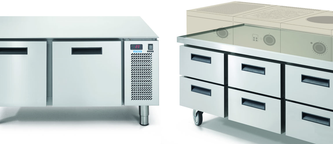 Refrigerated Catering Counters