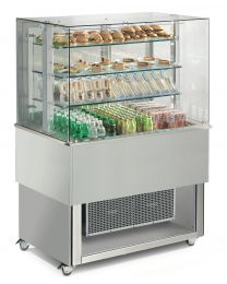 Afinox Tradition RAL Special Open Front 3 Tier Refrigerated Food Island