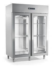 Afinox Energy Glass Door 1400 Upright  Freezer 2/1 GN
