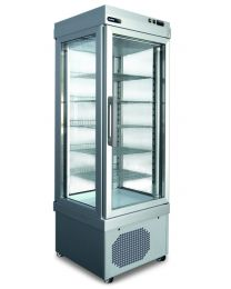 Afinox Refrigerated Ventilated display cabinets for cakes and pastry.