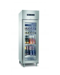 Afinox Green Plus 400 Bottle Chiller Refrigerated Cabinet - Glass Door