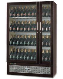 Afinox Talento 144 Bottle Wine Display Cabinet - Cherry