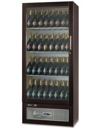 Afinox Talento 108 Bottle Wine Display Cabinet - Cherry